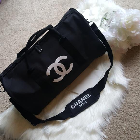 ebba9da1f9d9 CHANEL Bags | Duffle Travel Or Gym Bag Vip Gift | Poshmark